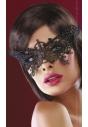 14 maska na oczy z czarnej koronki