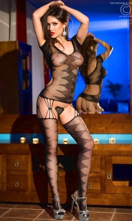 Bodystocking Chilirose CR-4051