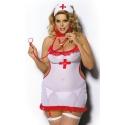 Strój pielęgniarki Shane koszulka dla puszystej