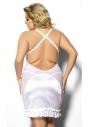 Tanise biała haleczka nocna duży rozmiar