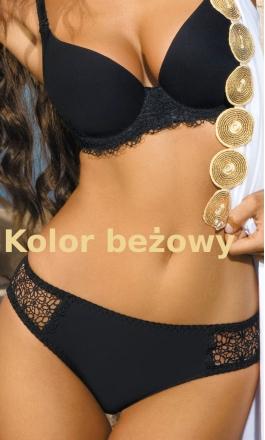 Clodi seksowne stringi beżowe