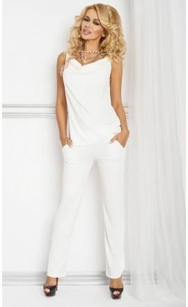 Stella piżama z wiskozy długie spodnie