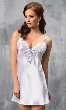 Elsa elegancka biała halka nocna
