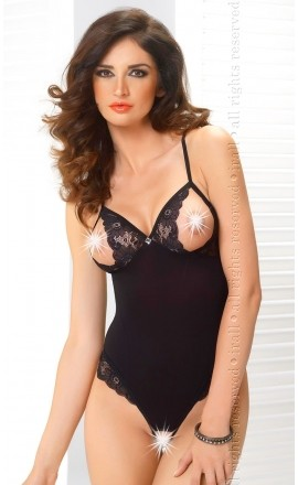 Felicity erotyczne body z odkrytymi piersiami