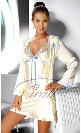 Grace satynowa koszulka nocna na ramiączkach