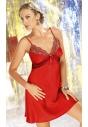 Salome czerwona halka damska z satyny