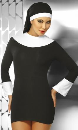 Nun - seksowne przebranie zakonnicy
