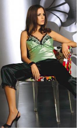 Piżama satynowa Irall Delphine