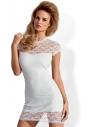 Dressita biała koronkowa sukienka