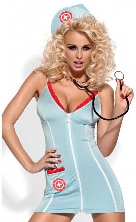 Kostium Pani Doktor w zestawie z stetoskopem