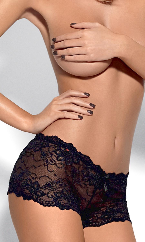 501d6167de0c18 Imperia czarne koronkowe szorty - Diores
