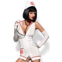 Emergency dress kostium pielęgniarki+stetoskop