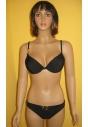 Nadia czarny strój kąpielowy push-up M, L