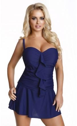 509 Sukienka kąpielowa w dużym rozmiarze