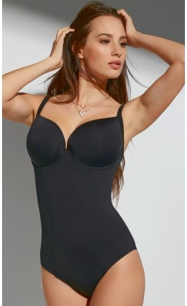 Beach kostium kąpielowy jednoczęściowy na duży biust