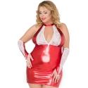SB/X02 czerwona seksowna koszulka XXL