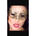 Maska na oczy z mosiądzu w kolorze złota CR-3806