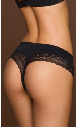 Carien seksowne stringi czarne