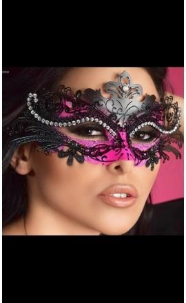 CR-3993 karnawałowa maska na oczy z różem