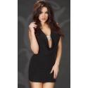 Sukienka seksowna mini z biżuterią CR-3636