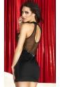 CR-3493 seksowna mała czarna sukienka