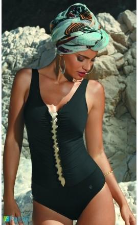 33 klasyczny czarny kostium kąpielowy duże rozmiary
