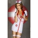 Kostium seksownej pielęgniarki ze stetoskopem CR-3305