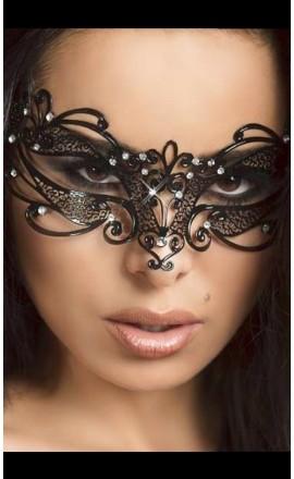 CR-3756 klasyczna maska na oczy z kryształkami