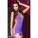 Sukienka erotyczna w kolorze filetowym CR-4096