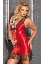 M/1010 Tatiana czerwona koszula nocna duży rozmiar
