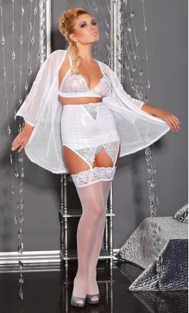 M/1038 White Dream komplet XXL na noc poślubną