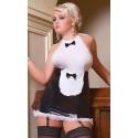 S/3035 Luxe Waitress przebranie seksownej kelnerki XXL
