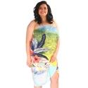 PA/04 duże pareo plażowe jak sukienka