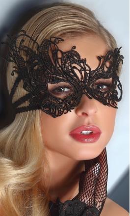 1 koronkowa maska na oczy