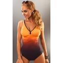 Belize jednoczęściowy kostium kąpielowy z marszczeniami
