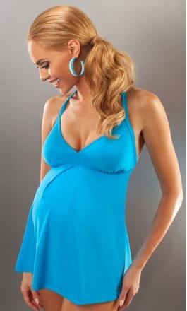 Canberra jednoczęściowy strój kąpielowy ciążowy M