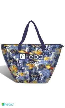 F52 elegancka duża torba plażowa