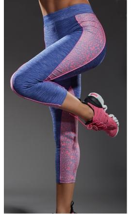 Flow legginsy sportowe damskie
