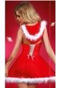 Kostium mikołajki sukienka