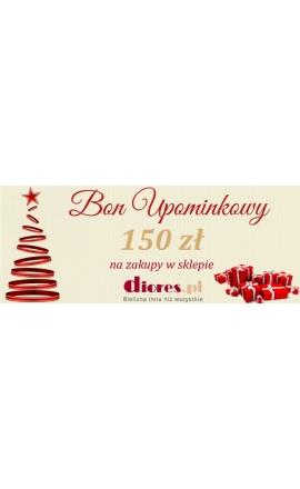 E-bon upominkowy 150 zł jako prezent świąteczny