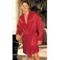 SH-20061 czerwony szlafrok satynowy męski