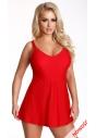 510 sukienka kąpielowa ww czerwonym kolorze