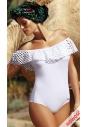Sonia M-459 jednoczęściowy strój kąpielowy w kolorze białym
