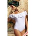 Sonia M-459 jednoczęściowy kostium kąpielowy w kolorze białym