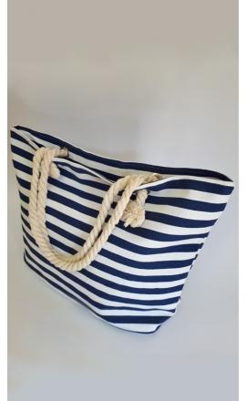 Materiałowa torba plażowa