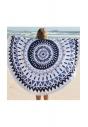 REC1 okrągły plażowy ręcznik