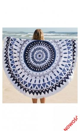 plażowy ręcznik koło