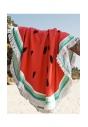 Okrągły ręcznik plażowy