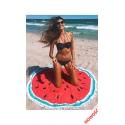 Ręcznik plażowy REC14 okragły wzór arbuz