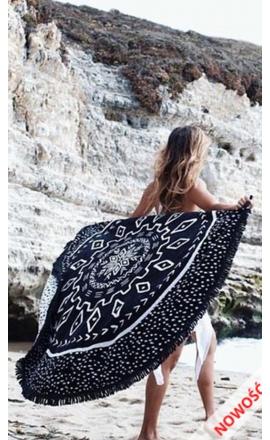 Okrągły ręcznik plażowy REC18